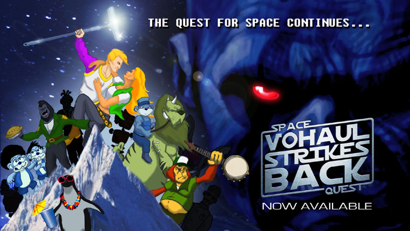 Space Quest Wallpaper